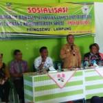 Dinas Sosial Provinsi Lampung Adakan Sosialisasi Program Bahagia dan Sejahteta Bagi Lansia