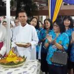 Paroki Maria Ratu Damai Teluk Betung Rayakan Pesta Nama Santa Pelindung