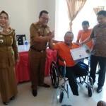 64 Orang Disabilitas Fisik di Lampung Tuntas Ikuti Pelatian Ketrampilan Praktis