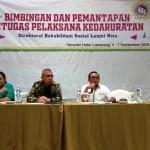 Tim UPSK Provinsi Lampung Lakukan Layanan Konsultasi dan Mefis Bagi Disabilitas di Kabupaten Way Kanan