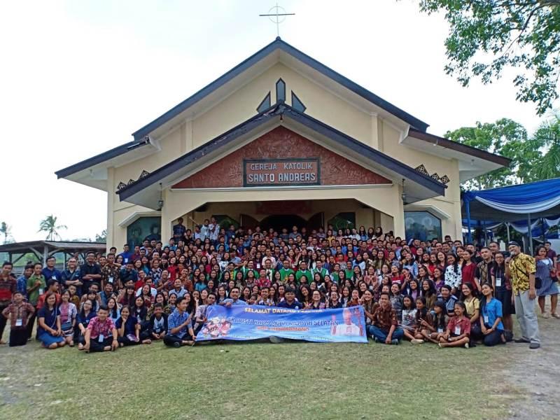 Para peserta EKM di Gereja Santo Andreas Margo Agung, 29-30 September 2018.