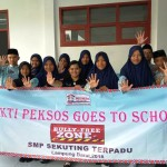 Dinas Sosial Provinsi Lampung Inisiasi Program Sakti Peksos Goes to School