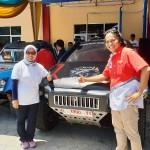 Mobil Listrik PLN Singgahi Lampung
