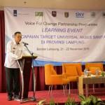 Pemprov Lampung Targetkan di 2019 Warga Tidak BAB Sembarangan