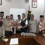 Kwarcab Lampung Utara Serahkan Bumbung Kemanusiaan dan Pakaian Layak Pakai untuk Palu