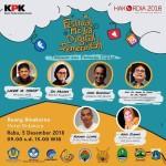 Aksi KPK di Hakordia 2018:  Dari Festival Media Digital Pemerintah, Hingga Talkshow Perempuan Anti Korupsi