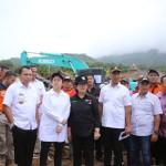 Empat Menteri Kabinet Kerja Kunjungi Korban Tsunami di Lampung Selatan