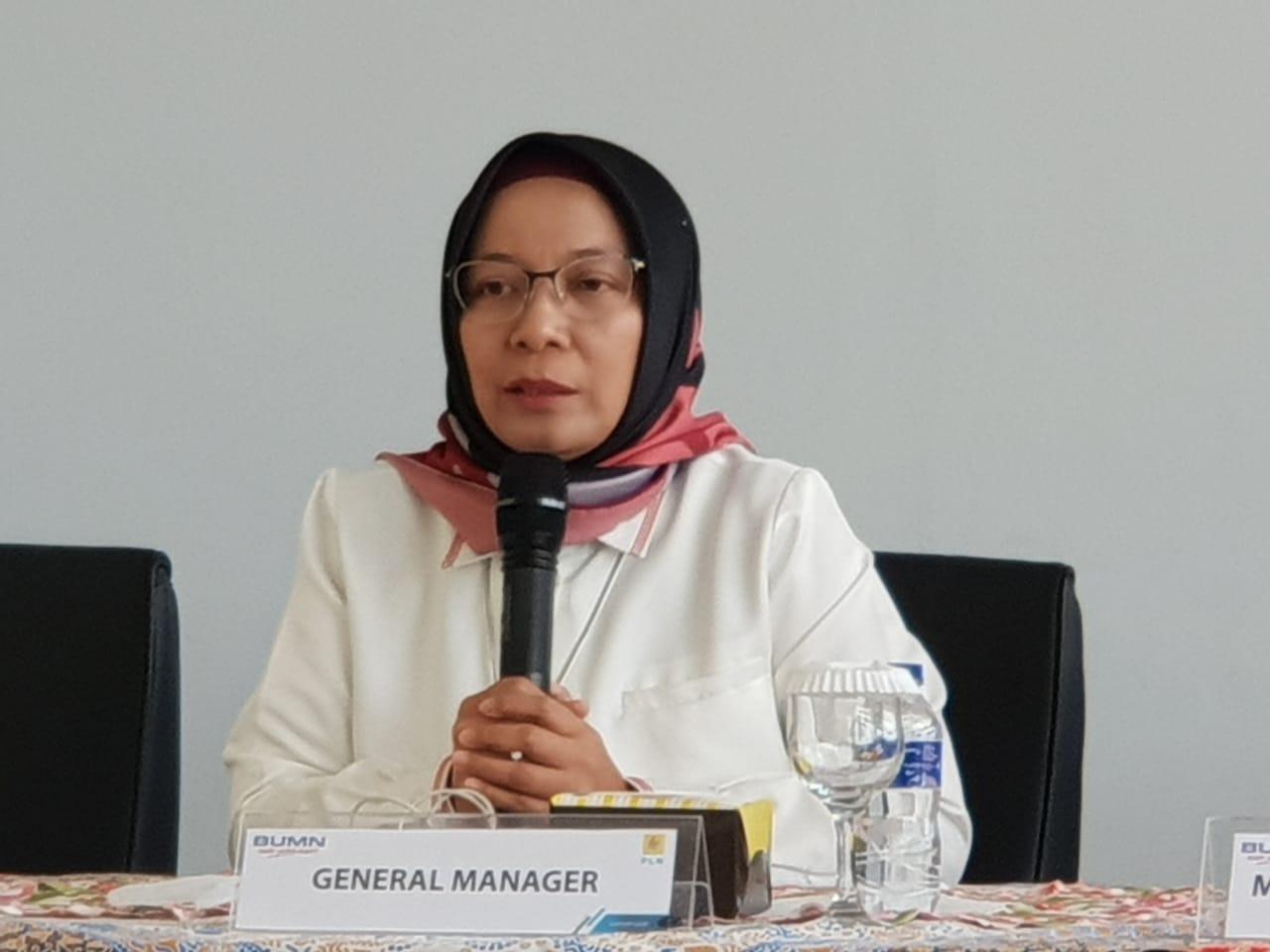 General Manager PLN UID Lampung, Julita Indah.