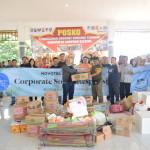 Novotel Lampung Serahkan Bantuan Korban Tsunami Kalianda