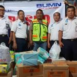 PT KAI Divre IV Tanjungkarang Berikan Bantuan Korban Tsunami di Kalianda