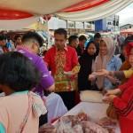 Pemprov Lampung melalui DKP Gelar Pasar Murah di Pasar Tugu Bandar Lampung