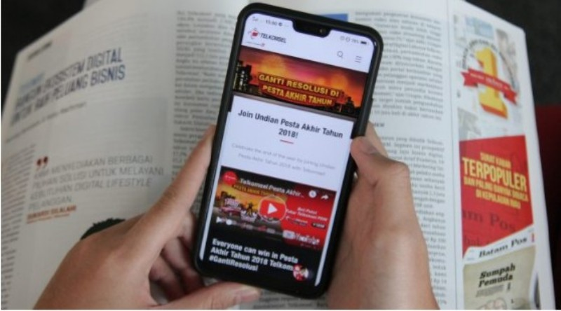Masih Ada Kesempatan Pesta Akhir Tahun Telkomsel Berakhir Januari 2019.