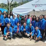 Mahasiswa STIE Gentiaras Berikan Bantuan Untuk Korban Tsunami di Kalianda