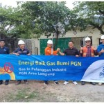 Pabrik di Lampung Gunakan Gas Bumi PGN Gantikan Penggunaan Kayu Bakar