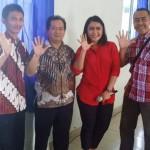 Brigita Manohara Berikan Pelatihan Jurnalistik di SMA Xaverius Pringsewu