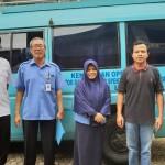 Tim dari Balai Monitor Spektrum Frekuensi Radio Kelas II Lampung Melakukan Pengukuran Parameter Teknis Radio di Suara Wajar