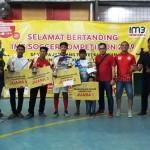 82 Club Futsal Bertarung di IM3 Soccer Competiton Pringsewu
