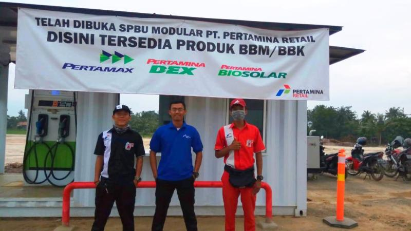 Pertamina Siapkan SPBU Modular Layani Pelanggan Tol Bakauheni – Terbanggi Besar Lampung