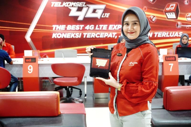 Berikan Layanan Komunikasi Terbaik, Telkomsel Maksimalkan Upgrade USIM 4G.