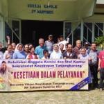 Rekoleksi Bersama Anggota Komisi dan Staf Kantor Sekretariat Keuskupan Tanjungkarang