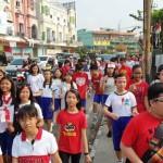 Tanamkan Cinta Tanah Air, Xavete Bandar Lampung Gelar Pawai Kemerdekaan