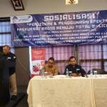 Balai Monitor Spektrum Frekuensi Radio Kelas II Lampung Ditjen SDPPI Gelar Sosialisasi