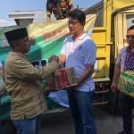 Yayasan Insan Damai Beri Bantuan Korban Kebakaran Kaliawi