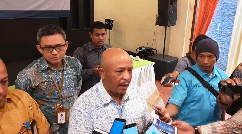 General Manager PLN Unit Induk Distribusi Lampung, Pandapotan Manurung.