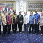 Panitia Natal Oikumene 2019 Audiensi Dengan Wagub Lampung Chusnunia