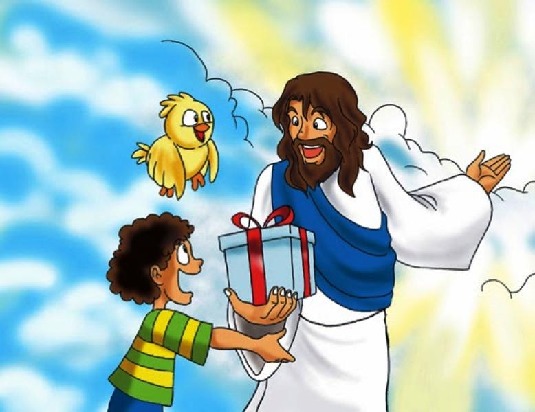 Ilustrasi hadiah dari Tuhan. Sumber foto : eekidsindonesia.blogspot.com/