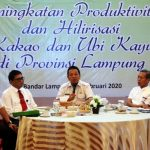Pemprov Lampung Lakukan Hilirisasi Produk Kakao dan Ubi Kayu