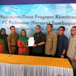 Salurkan 17 Milyar, Pertamina Gandeng Usaha Masyarakat Lampung Tengah